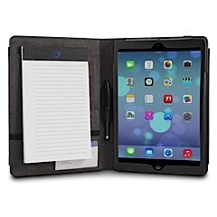 inScribe iPad air case folio leather notepad MarBlue