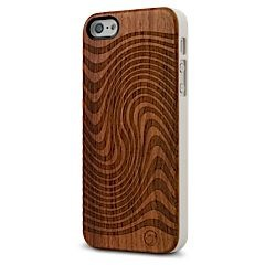 Jetstream Wood iPhone 5 5s case MarBlue