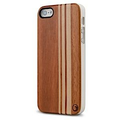 Longboard Wood iPhone 5 5s case MarBlue