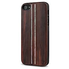 Parallel Wood iPhone 5 5s case MarBlue