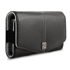 Leather iPhone 5 5s Holster Clip Case