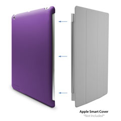 MicroShell iPad 4 Case, iPad with Retina display cover iPad 3